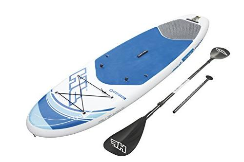 "Bestway Hydro-Force 10' 33"" 4.75"" Oceana Inflatable Stand Up Board"