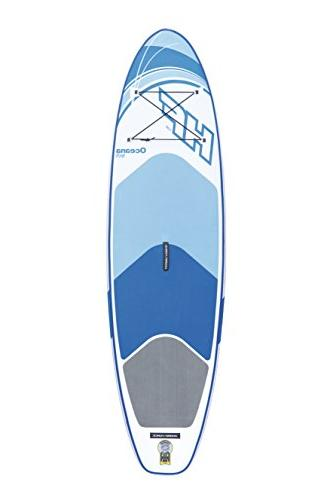 """Bestway Hydro-Force Inflatable Stand Up Board, 10' x 6"""""""