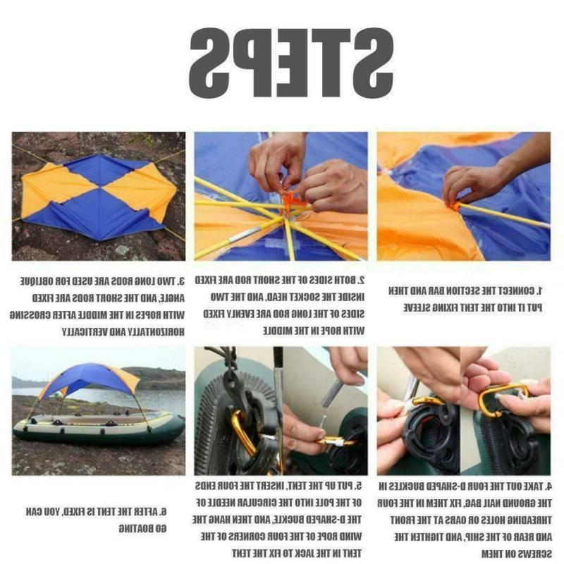 Inflatable Awning Sun Shelter Tent Foldable