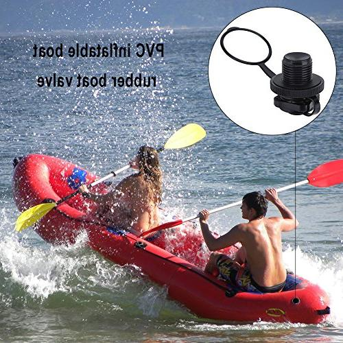 VGEBY Spiral Inflation Screw Inflatable Boat