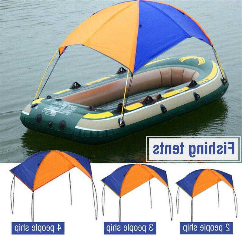 New Inflatable Kayak Awnings, Portable Foldable Canopy for F
