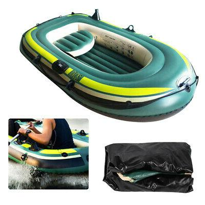PVC Inflatable Boat Canoe Fishing Drifting Diving