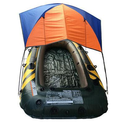 Inflatable Sun Shade Canoe Awning Foldable 2 Person