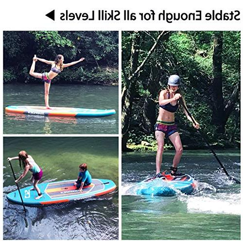 Swonder Premium Stand Up Paddle Board, Durable & Steady, 10'6/11'6 Long Thick, SUP Paddle | | |Center Paddling Surfing