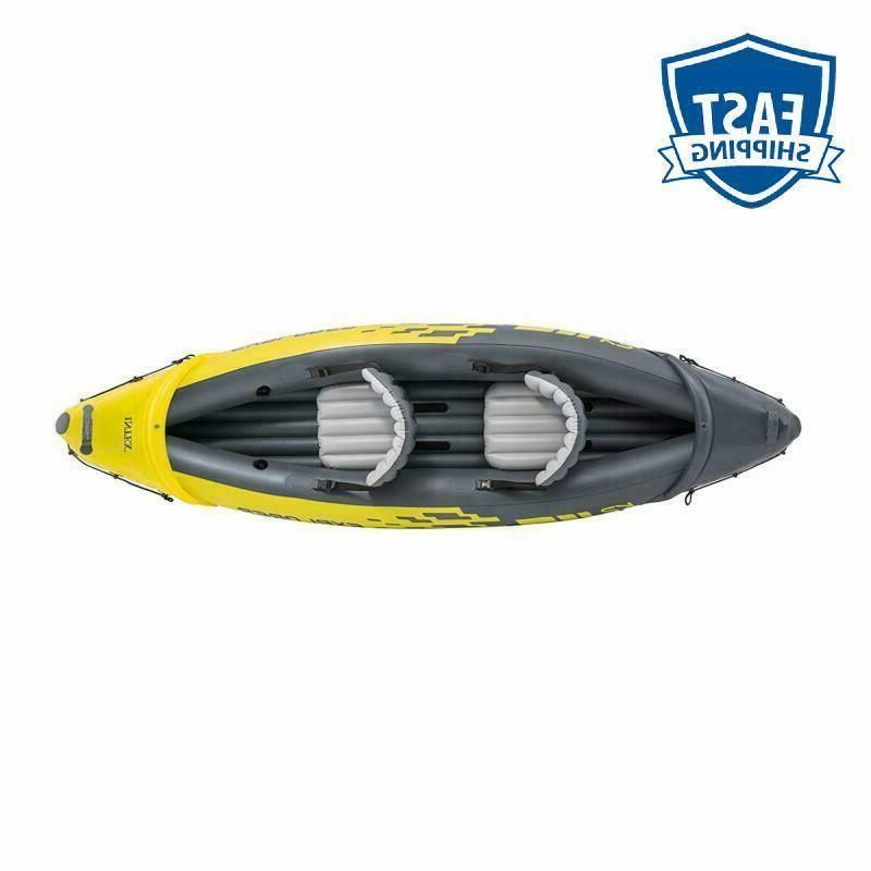Intex K2 Kayak, 2-Person Inflatable With And Hi