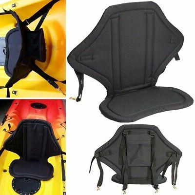 Kayak Adjustable Back Inflatable Boat Seat Canoe Fishing