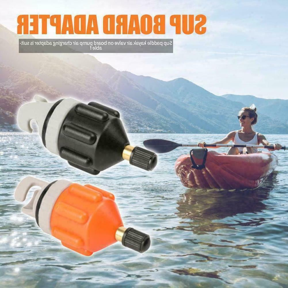 1Pc Inflatable Boat SUP Pump Adapter Kayak Air Valve Connect
