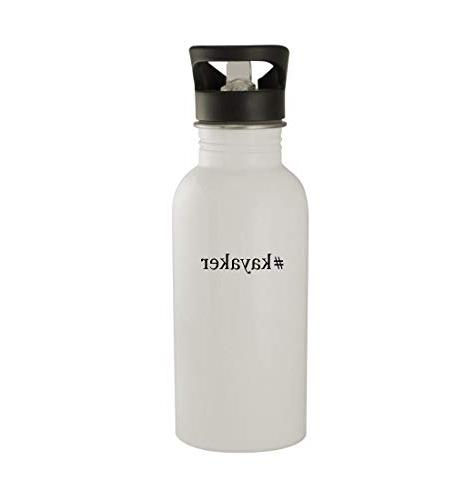 kayaker 20oz sturdy hashtag stainless steel water