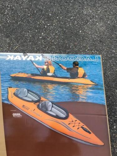Advanced Person Kayak Gray In