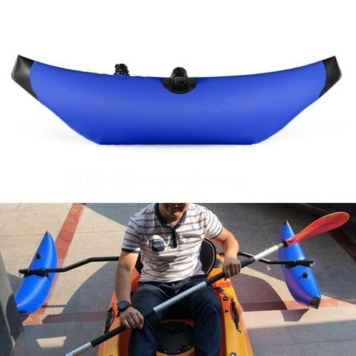 Lightweight PVC Inflatable Outrigger Kayak Canoe Fishing Stabilizer Systems