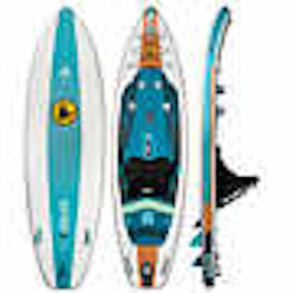 "New Glove 9'6"" Inflatable Kayak Up Board"