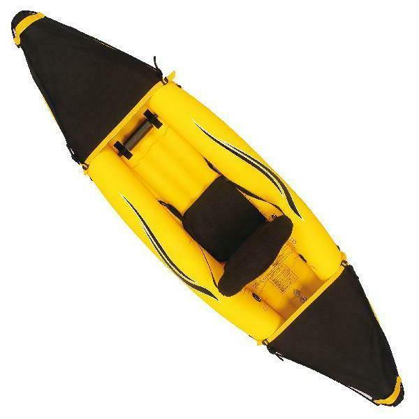 Blue Wave Nomad 1-Person Inflatable lbs Capacity, Yellow