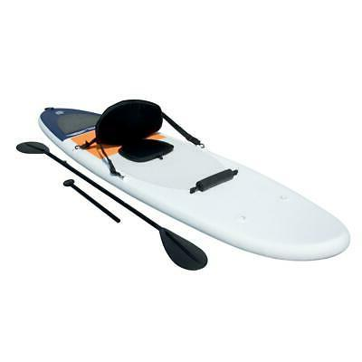 paddle inflatable paddle trial sup kayak white