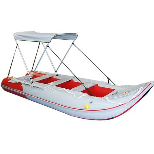 Canopy Inflatable Canoe Boat
