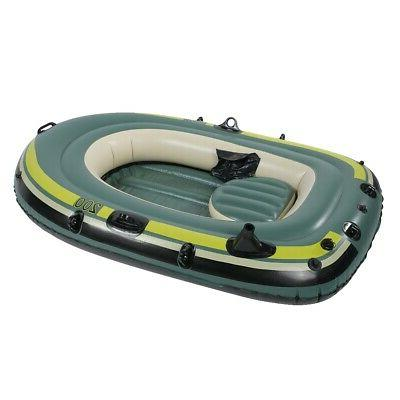 Heavy Duty Rowing Inflatable Air Fishing Raft