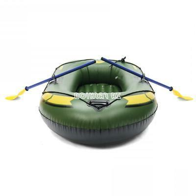 PVC Inflatable Person Boat Canoe Air Boat Drifting