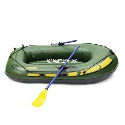 PVC Inflatable 3 Person Boat Fishing Boat Drifting