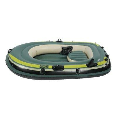 Heavy 2Person Inflatable Boat Fishing Drifting Raft