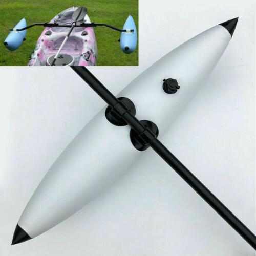 PVC Outriggers Stabilizers System Fishing Boat Float Tube