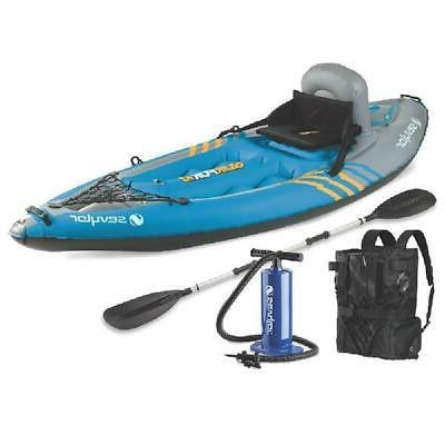 quikpak k1 one person kayak inflatable