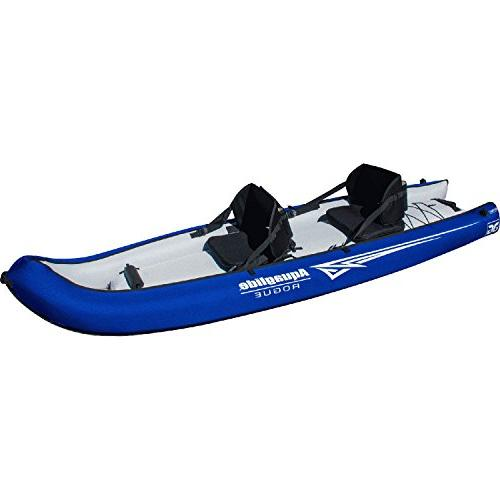 Aquaglide Two Inflatable Kayak-Blue/White