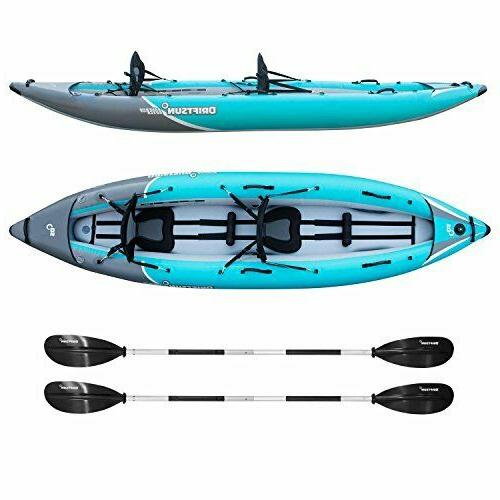 rover 220 inflatable kayak 2 person white