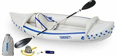 se330 inflatable sports kayak pro solo package