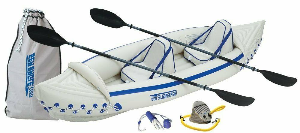 se330 professional 2 person inflatable sport kayak