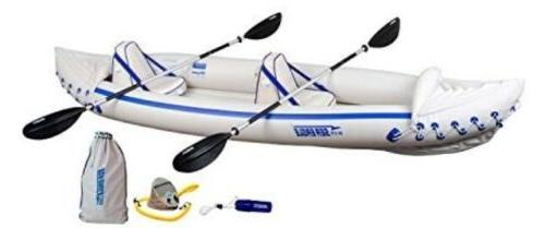 se370 inflatable sports kayak pro package 2