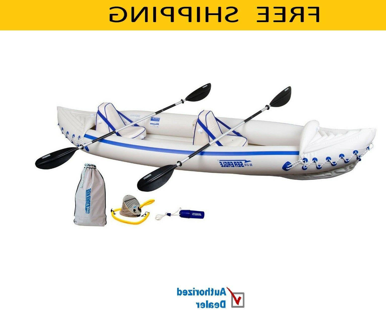 se370k p inflatable kayak with pro package