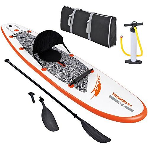 Blue 10' Paddleboard with Paddle Pump