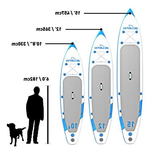 Bluefin Inflatable Board with Kayak | Ultimate iSUP