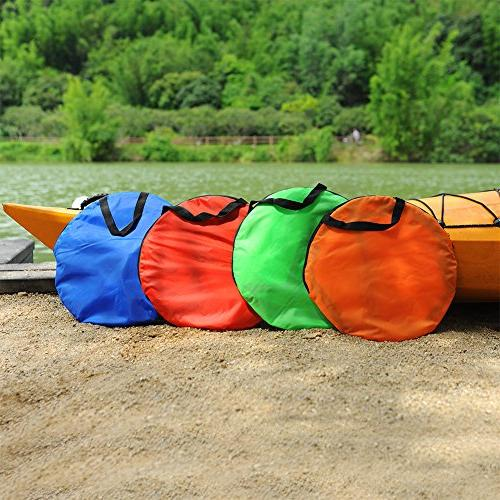 RENHAIGY Tandem Wind Paddle Popup Foldable Canoe 42 Durable Easy Compact Portable