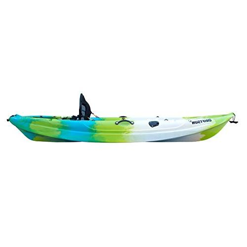 Driftsun Teton 90 Shell Person Top Kayak with Padded Includes Paddle Fishing Holder