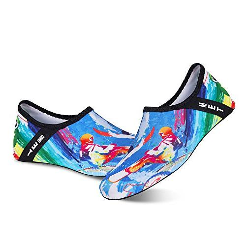 Womens and Mens Shoes Socks Beach Swim Surf Exercise