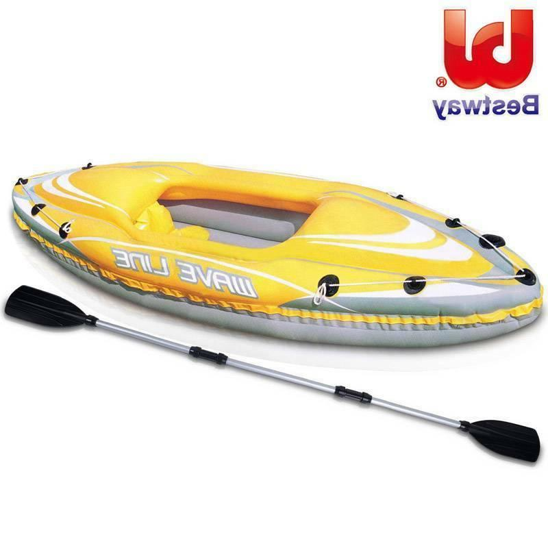 wave line inflatable kayak one person