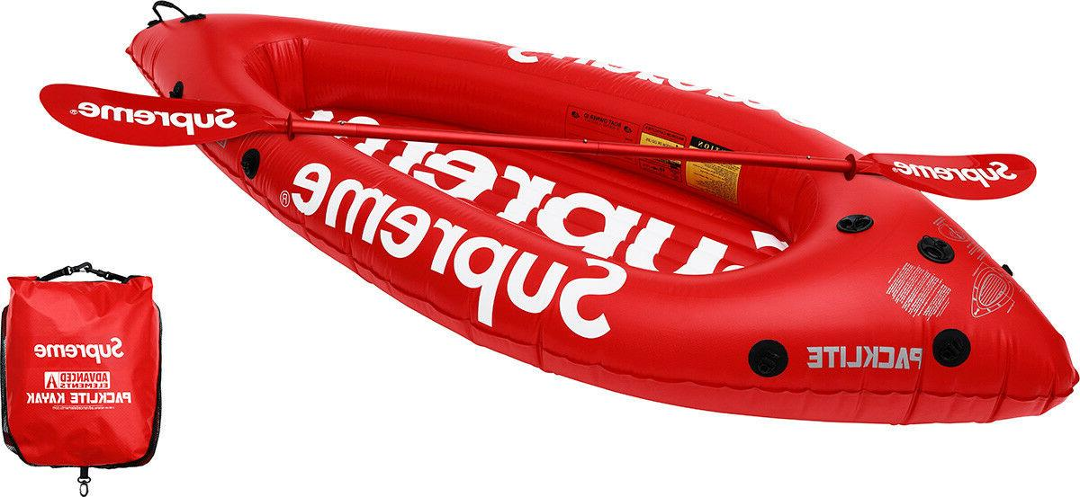 x advanced elements packlite kayak red box