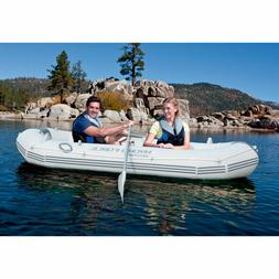 Ozark Trail Marine Pro Inflatable Boat with Oars Air Pump an