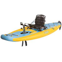 Hobie Mirage i11S Inflatable Kayak - Mango/Slate