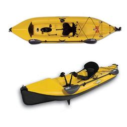 Hobie Mirage i12S Inflatable Kayak 12ft - Yellow