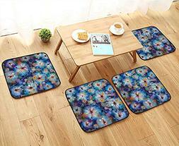 Printsonne Modern Chair Cushions with Firefly Bug Mother Ear