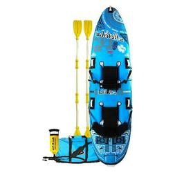 Rave Sports Molokai Inflatable Kayak, For 2 Persons, Free Sh