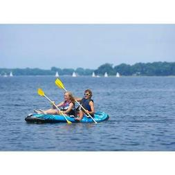 Rave Sports Molokai Inflatable Kayak 2 Person Two Paddles W