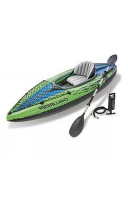 🔥 New Intex Challenger K1 Inflatable Kayak with Oar and H
