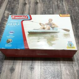 NEW - Coleman Inflatable 1 person Sit on Top Kayak with Padd