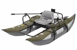 Pontoon Boat Inflatable Fishing Kayak Paddle Angler Double M