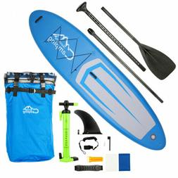 Portable 11Ft Inflatable SUP Stand Up Paddle Board & Kayak 2