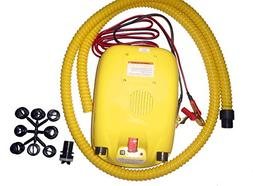 Portable 12V Electric Air Pump for Inflatable Boat, Inflatab