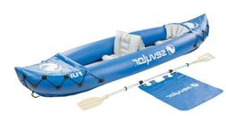 SEVYLOR PROMOTIONAL FIJI INFLATABLE 2 PERSON KAYAK WITH PADD