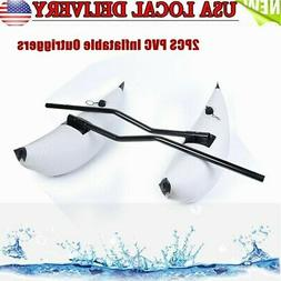 2xPVC Inflatable Boat Kayak Canoe Fishing Outrigger Stabiliz